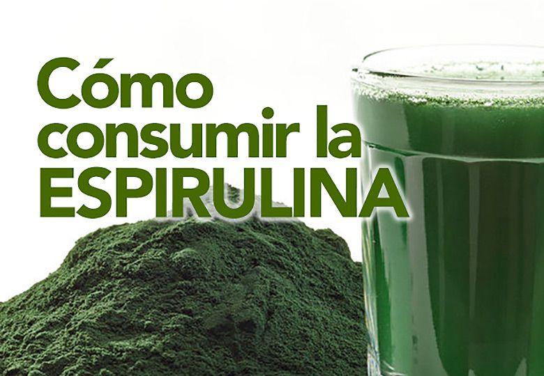 CONSUMIR-espirulina
